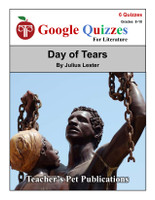 Day Of Tears Google Forms Quizzes