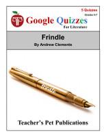 Frindle Google Forms Quizzes