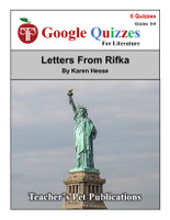 Letters From Rifka Google Forms Quizzes