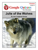 Julie of the Wolves Google Forms Quizzes