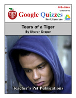 Tears Of A Tiger Google Forms Quizzes