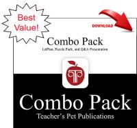 Cheaper By the Dozen Lesson Plans Combo Pack