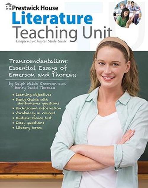 Transcendentalism: Essential Essays of Emerson and Thoreau Prestwick House Novel Teaching Unit