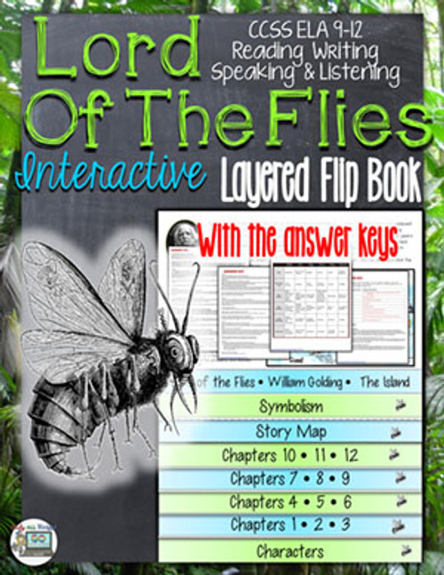 Lord of the Flies Novel Study Flip Book