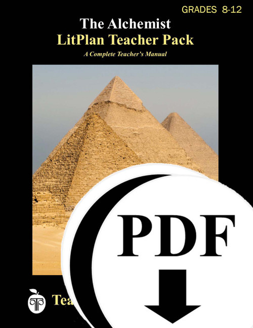 The Alchemist LitPlan Teacher Pack Lesson Plans, Novel Unit