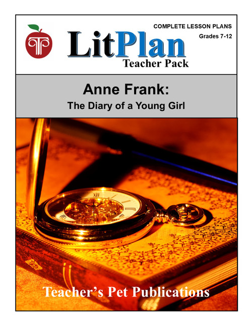 Anne Frank Diary of a Young Girl Lesson Plans | Litplan Teacher Pack