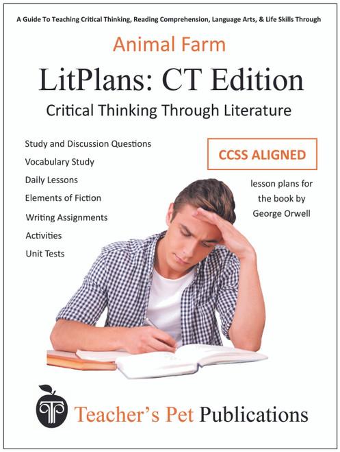 Animal Farm LitPlan Critical Thinking Edition