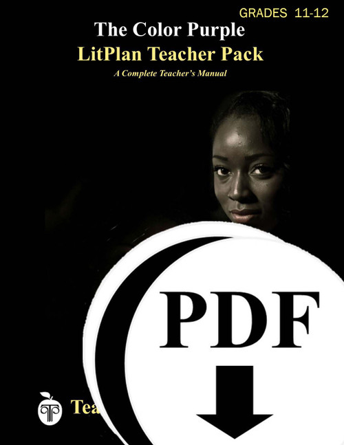 The Color Purple LitPlan Lesson Plans (Download)