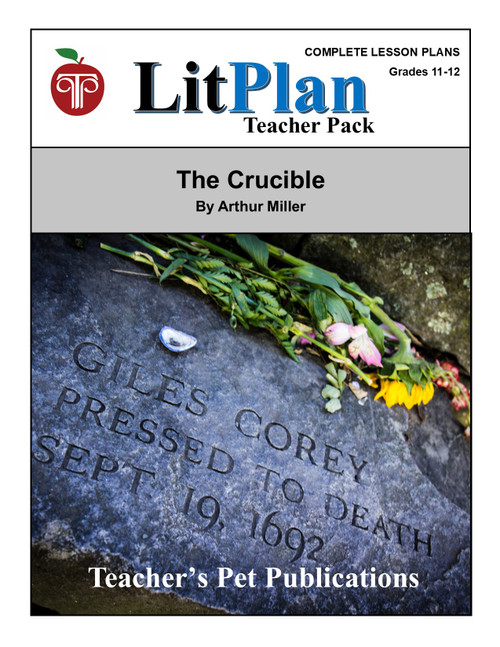 The Crucible LitPlan Lesson Plans (Download)