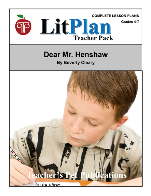 Dear Mr. Henshaw LitPlan Lesson Plans (Download)