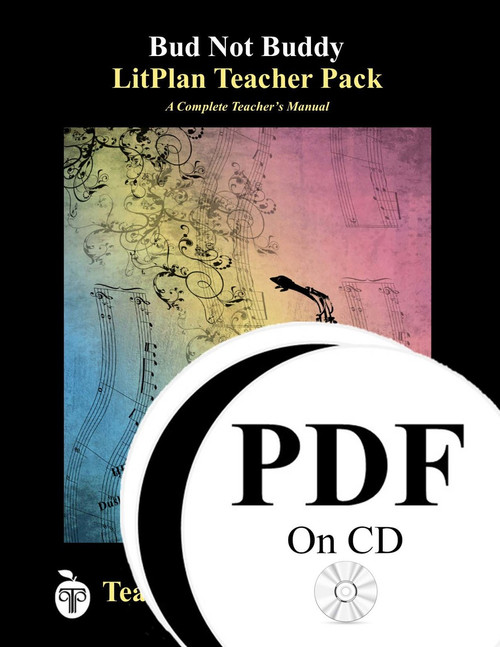 Bud Not Buddy LitPlan Lesson Plans (PDF on CD)