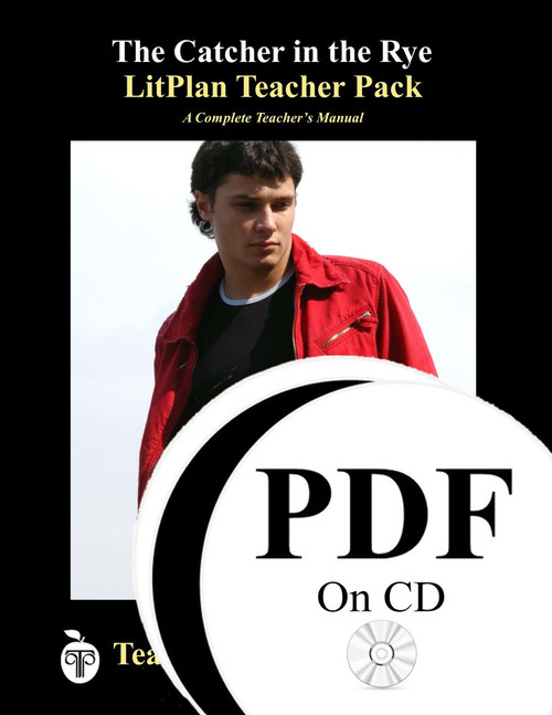 The Catcher in the Rye Lesson Plans | LitPlan Teacher Pack on CD