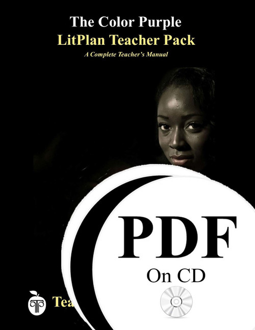 The Color Purple LitPlan Lesson Plans (PDF on CD)