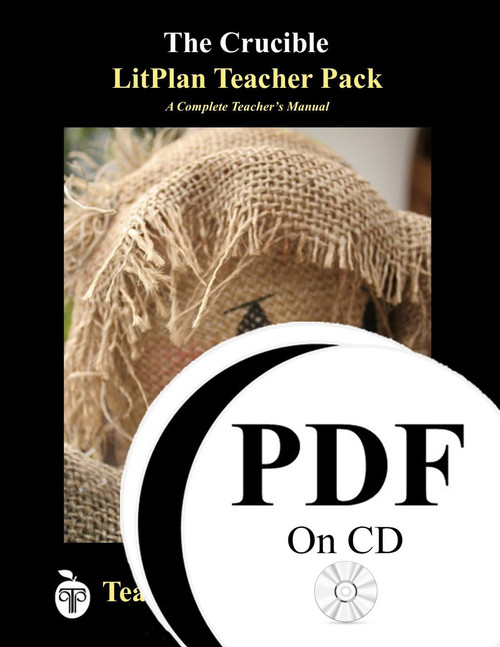 The Crucible LitPlan Lesson Plans (PDF on CD)
