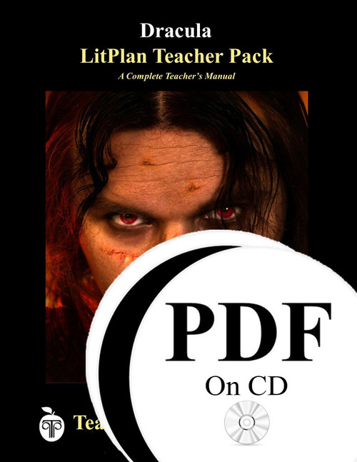 Dracula LitPlan Lesson Plans (PDF on CD)