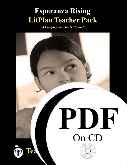Esperanza Rising LitPlan Lesson Plans (PDF on CD)