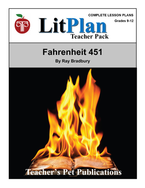 Fahrenheit 451 LitPlan Lesson Plans (Download)