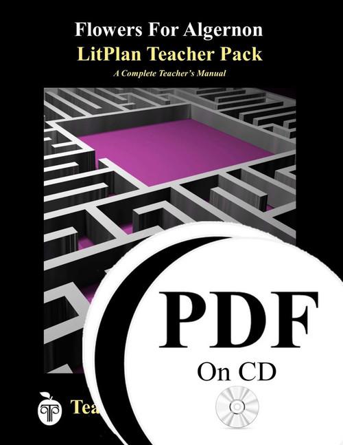 Flowers For Algernon LitPlan Lesson Plans (PDF on CD)