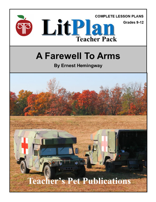 A Farewell to Arms LitPlan Lesson Plans (Download)
