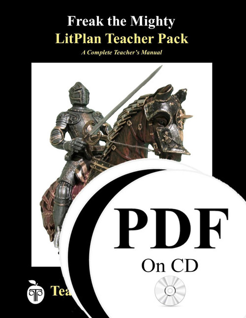 Freak the Mighty LitPlan Lesson Plans (PDf on CD)