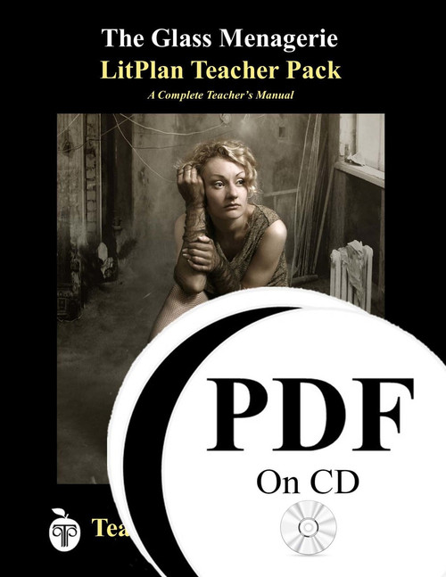 The Glass Menagerie LitPlan Lesson Plans (PDF on CD)
