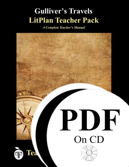 Gulliver's Travels LitPlan Lesson Plans (PDF on CD)