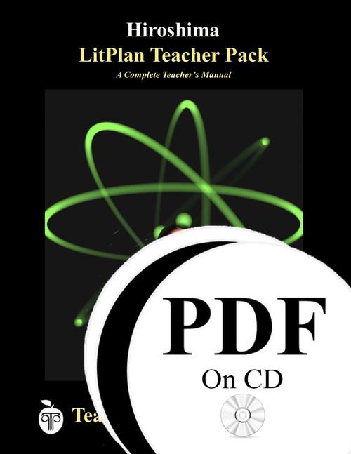 Hiroshima LitPlan Lesson Plans (PDF on CD)