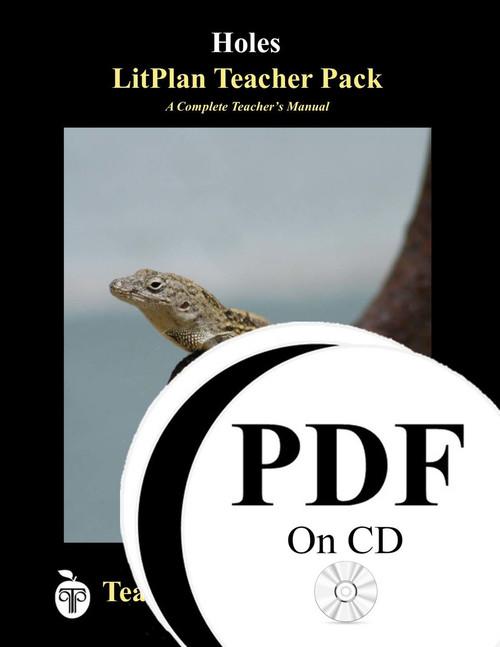 Holes LitPlan Lesson Plans (PDF on CD)