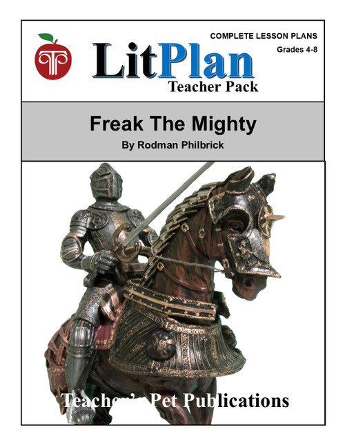 Freak the Mighty LitPlan Lesson Plans (Download)