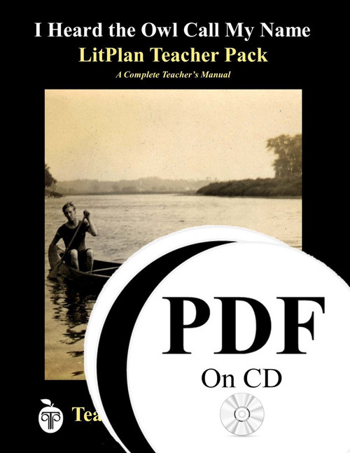 I Heard the Owl Call My Name LitPlan Lesson Plans (PDF on CD)