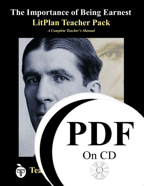 The Importance of Being Earnest LitPlan Lesson Plans (PDF on CD)