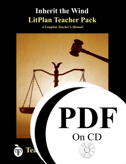 Inherit the Wind LitPlan Lesson Plans (PDF on CD)