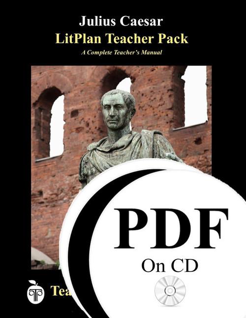 Julius Caesar LitPlan Lesson Plans (PDF on CD)