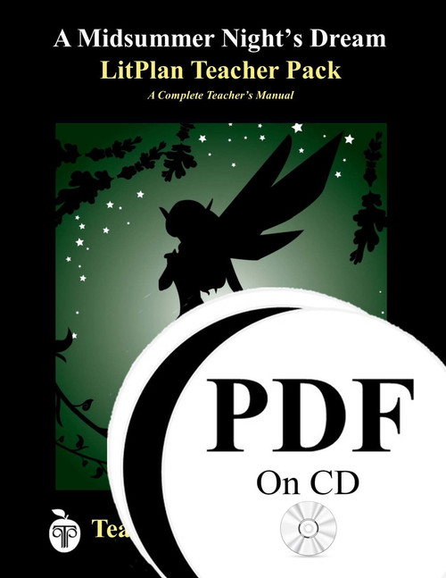 A Midsummer Night's Dream LitPlan Lesson Plans (PDF on CD)
