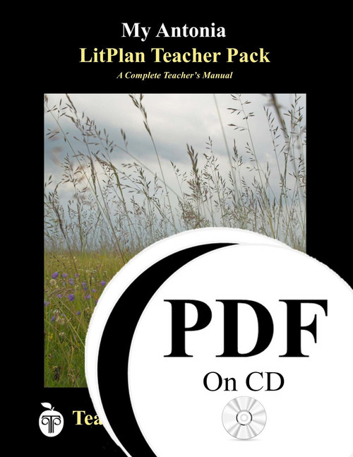 My Antonia LitPlan Lesson Plans (PDF on CD)