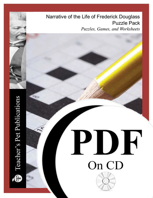 Narrative of the Life of Frederick Douglass Puzzle Pack Worksheets, Activities, Games (PDF on CD)