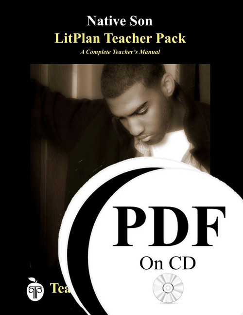 Native Son LitPlan Lesson Plans (PDF on CD)