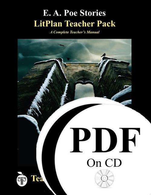 Poe Stories LitPlan Lesson Plans (PDF on CD)
