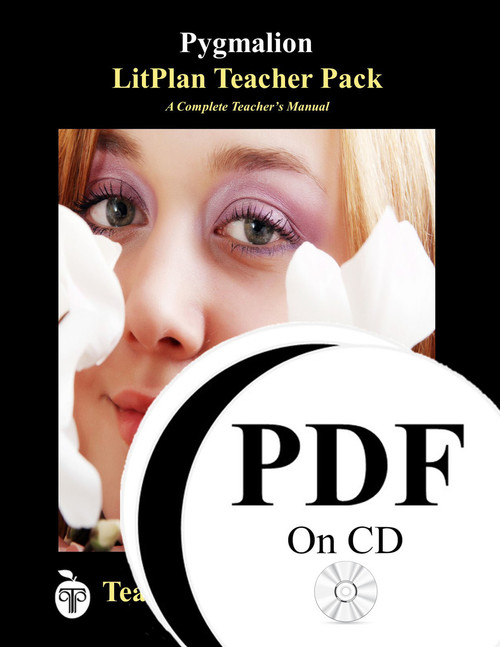 Pygmalion LitPlan Lesson Plans (PDF on CD)