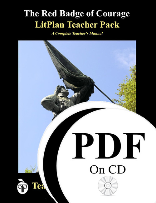 The Red Badge of Courage LitPlan Lesson Plans (PDF on CD)