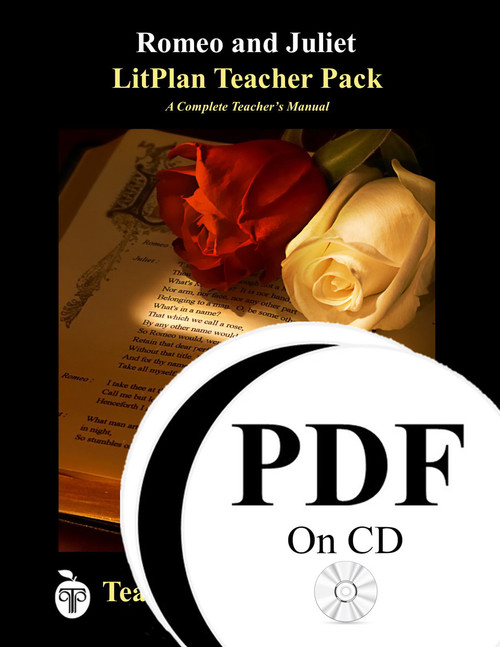 Romeo and Juliet LitPlan Lesson Plans (PDF on CD)