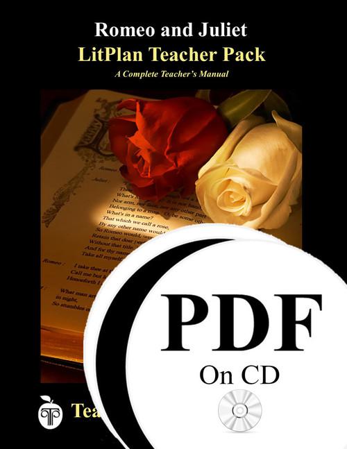 Romeo and Juliet LitPlan Lesson Plans (PDF on CD)