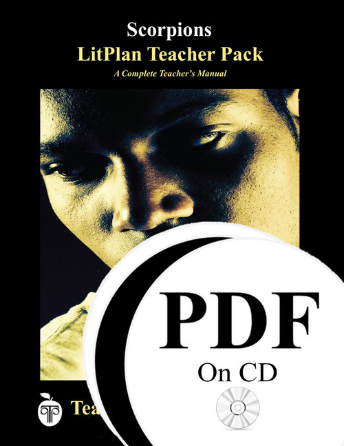Scorpions LitPlan Lesson Plans (PDF on CD)