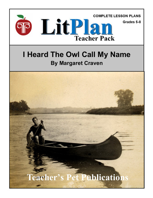 I Heard the Owl Call My Name LitPlan Lesson Plans (Download)