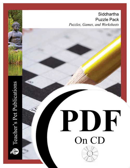 Siddhartha Puzzles, Worksheets, Games  Puzzle Pack on CD
