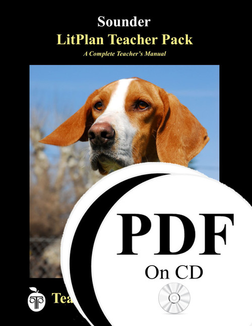 Sounder LitPlan Lesson Plans (PDF on CD)
