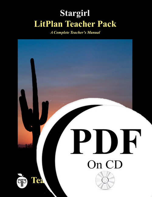 Stargirl LitPlan Lesson Plans (PDF on CD)