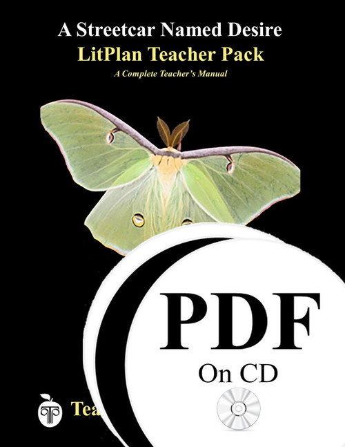 A Streetcar Named Desire LitPlan Lesson Plans (PDF on CD)