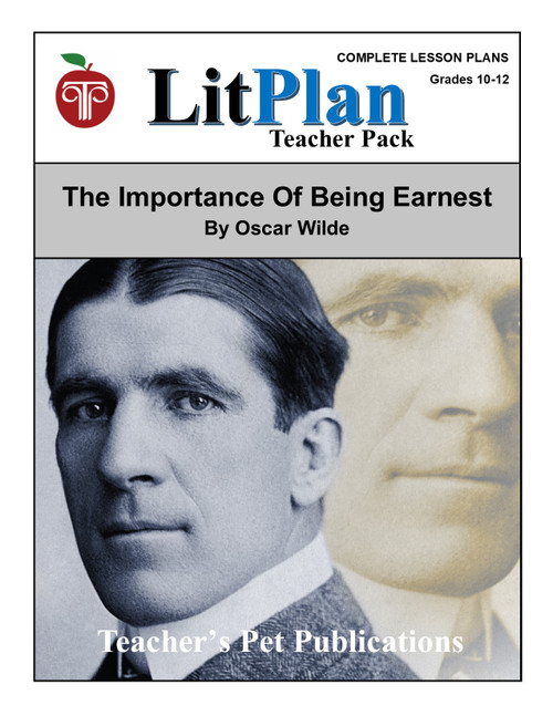 The Importance of Being Earnest LitPlan Lesson Plans (Download)