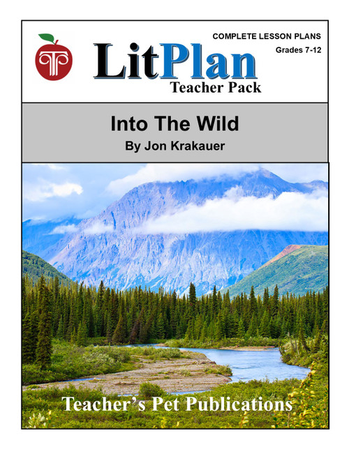 Into the Wild LitPlan Lesson Plans (Download)
